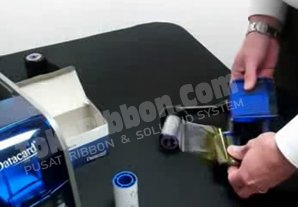 Cara memasang ribbon printer Datacard SD260 / SD360